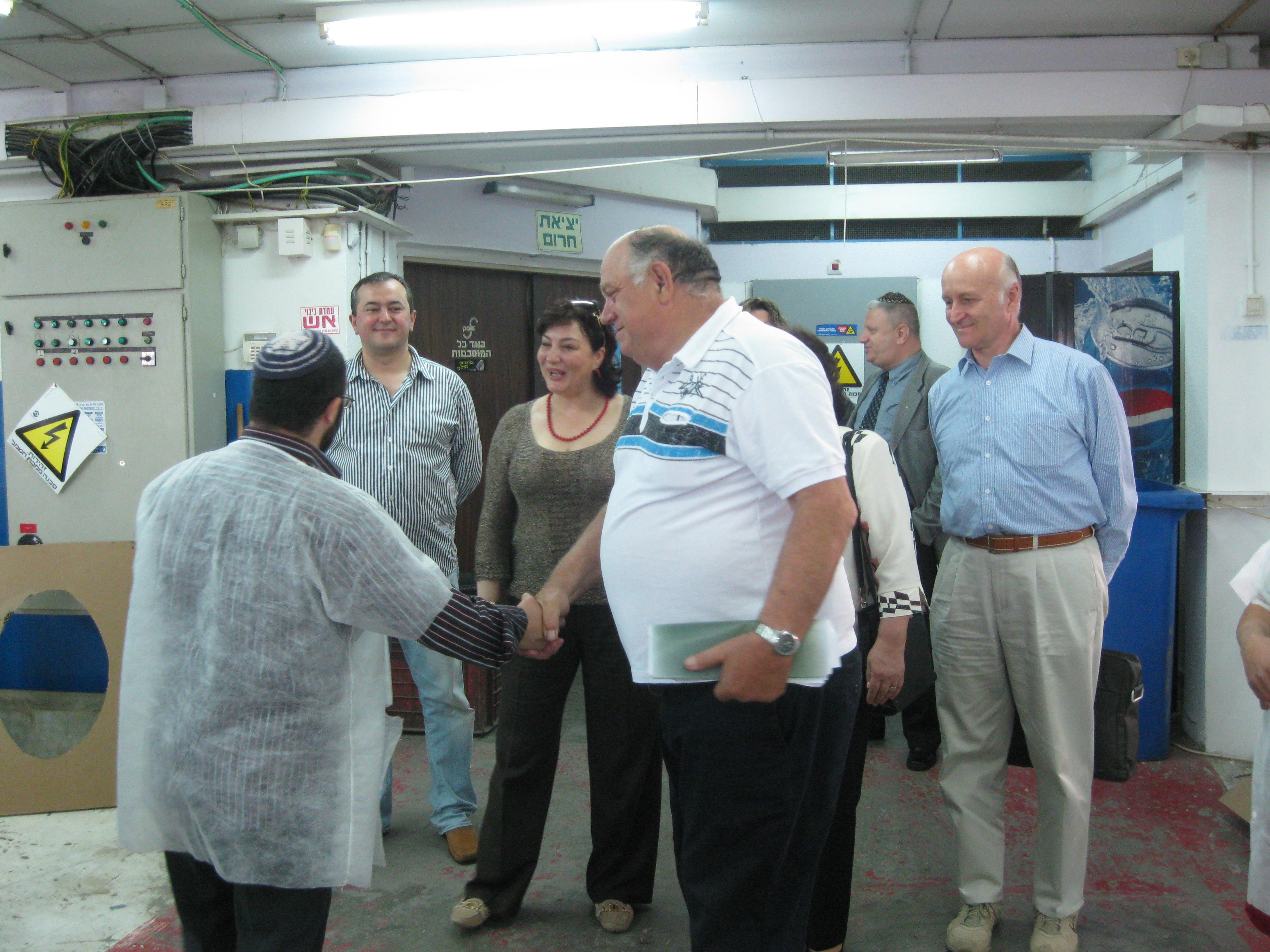 קבלת פנים במפעל אופק