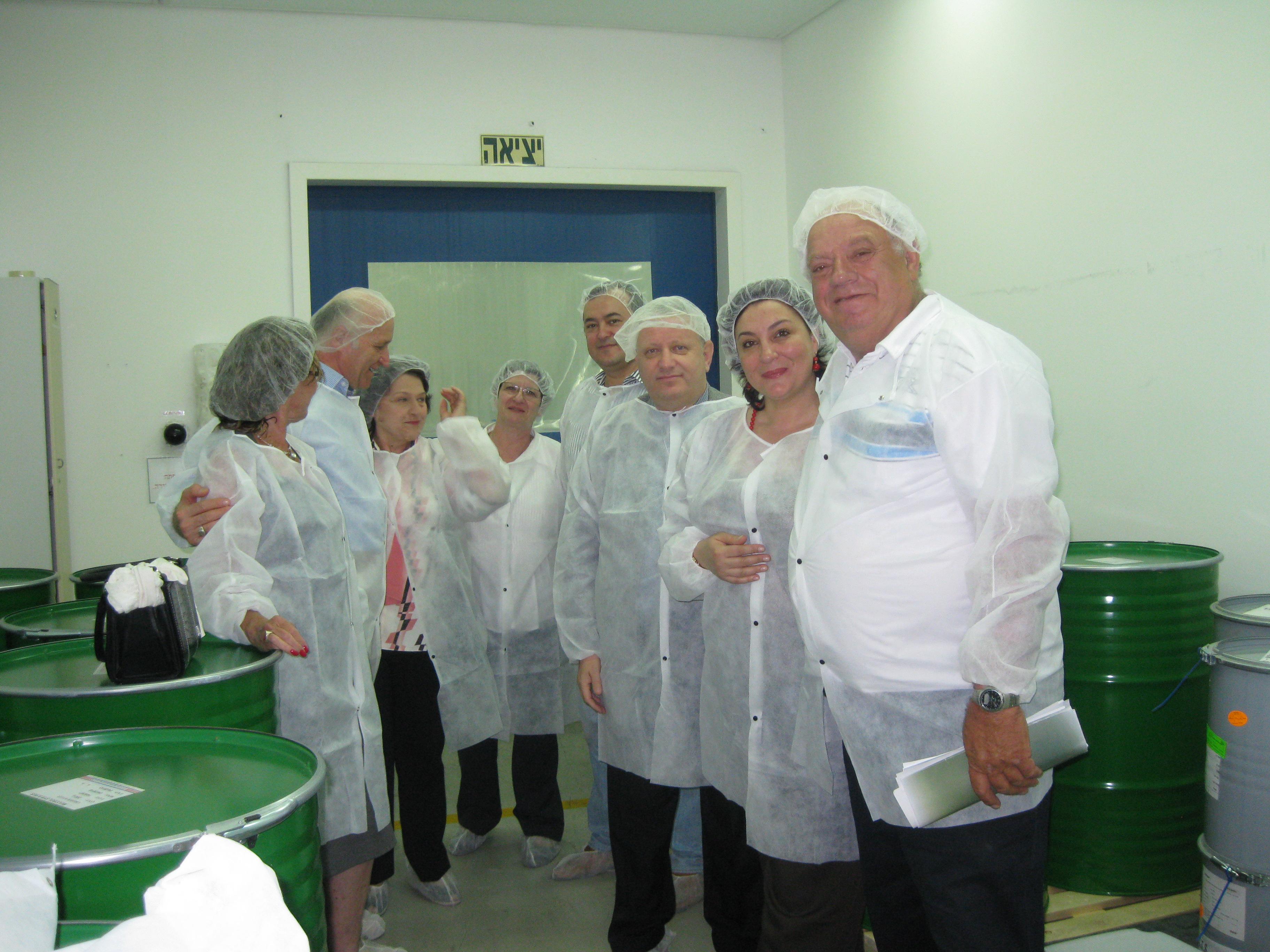 ביקור במפעל כצט